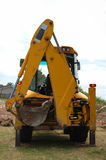 Backhoe or bucket loader  Stock Photo