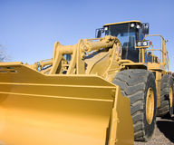 Backhoe bulldozer Stock Photo