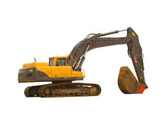Backhoe - Isolated Stock Photos