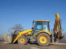 Backhoe loader Stock Photos