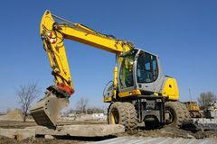 Backhoe loader Royalty Free Stock Photo
