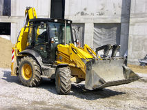 Backhoe loader Stock Photo