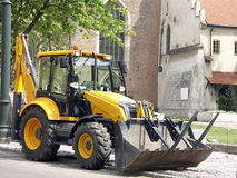 Backhoe loader Royalty Free Stock Photography