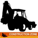 Backhoe Loader Construction Vehicle Royalty Free Stock Image