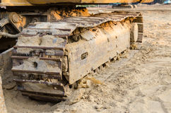 Backhoe loaders Stock Images