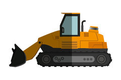 Backhoe machine icon Stock Photo