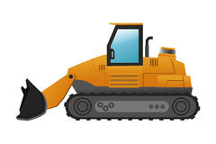 Backhoe machine icon Stock Photos