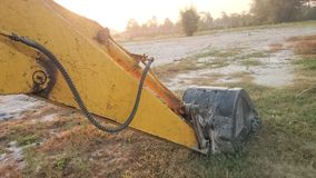 Backhoe Scoop Royalty Free Stock Photos
