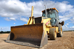 Backhoe Tractor Construction Royalty Free Stock Photo