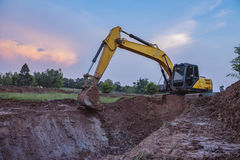 Backhoe Royalty Free Stock Photography