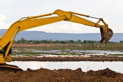 Backhoe Stock Photography