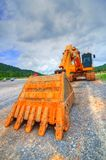 Backhoes Royalty Free Stock Photography