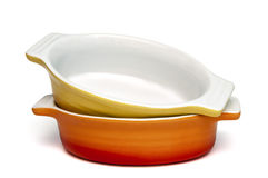 Backing dishes Royalty Free Stock Photos