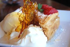 Backlava Dessert Stock Image