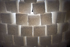backlight πύργος ζάχαρης μερών κινη& Στοκ Φωτογραφίες