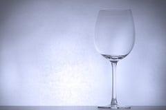 backlight φωτισμένο γυαλί κρασί Στοκ Εικόνα