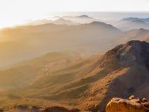 Backlight горы Синай Стоковые Фото