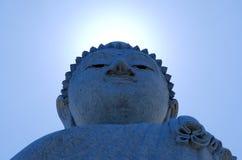 Backlight снятый Пхукета большого Будды стоковое фото