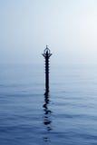 backlight bakanu błękit morze śródziemnomorskie Zdjęcia Royalty Free