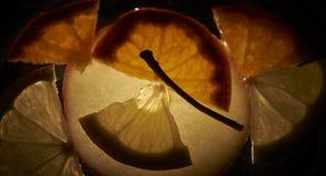Backlight fruit Royalty Free Stock Photography
