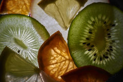 Backlight fruit Royalty Free Stock Photos