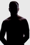 Backlight Male stock photos