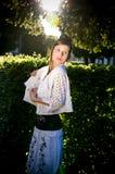 backlight mody dziewczyny słońce nastoletni Obrazy Royalty Free
