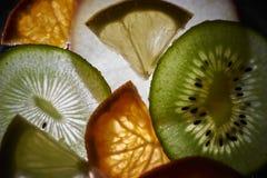 Backlightfruit Royalty-vrije Stock Foto