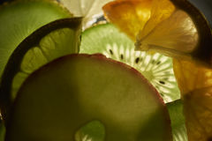 Backlightfruit Stock Afbeelding