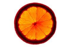 backlighting πορτοκάλι κινηματογρ&al Στοκ Φωτογραφίες