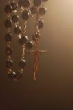 Backlighting del rosario Mystical Fotografie Stock Libere da Diritti