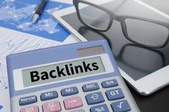 Backlinks technologii Online sieć Fotografia Royalty Free