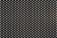 backlit пефорированная сталь Стоковое Изображение