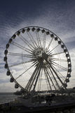 Backlit Big Wheel, Brighton Royalty Free Stock Photos