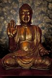 Backlit buddha icon Stock Photos