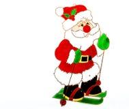 Backlit het venster of de boomdecoratie van Kerstmis stock foto's
