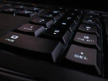 Backlit Keyboard Royalty Free Stock Photos