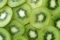 Backlit Kiwi Slice stock images
