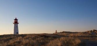 Backlit lighthouse 3 Royalty Free Stock Image