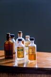 Vintage medicine bottle - Camphorated Oil Royalty Free Stock Image