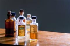 Vintage medicine bottle - Camphorated Oil Stock Images