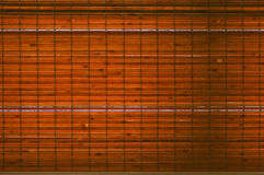 Backlit woven bamboo strips background Stock Photos