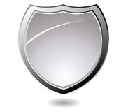 Backlite shield Royalty Free Stock Images