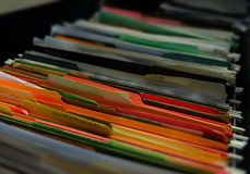Backlog File Folders Paperwork Busy Tasks Stock Photography