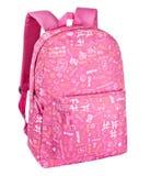 backpack ανασκόπησης απομόνωσε τ Στοκ εικόνα με δικαίωμα ελεύθερης χρήσης