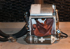 backpack διάσωση ορυχείων Στοκ φωτογραφία με δικαίωμα ελεύθερης χρήσης