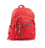 backpack κόκκινο Στοκ φωτογραφία με δικαίωμα ελεύθερης χρήσης