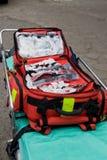 backpack πρώτος ενίσχυσης Στοκ Φωτογραφία