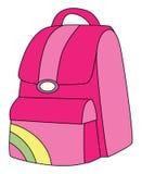 backpack ροζ Στοκ Φωτογραφίες