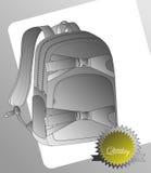 Backpack σελίδων τέχνη προτύπων Στοκ Εικόνα